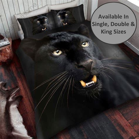 black panther duvet cover sets   single double