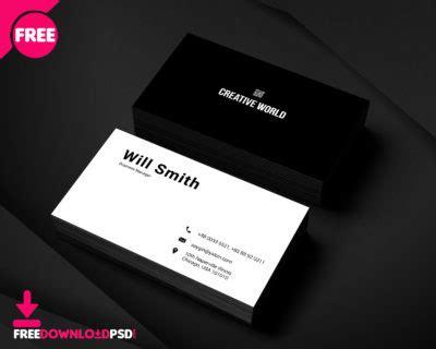 psd personal business card psd freedownloadpsdcom