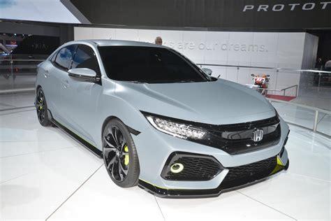 2017 Honda Civic Hatchback To Offer Turbo Engine, 6-speed