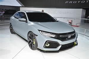 Honda Civic Hatchback : 2017 honda civic hatchback to offer turbo engine 6 speed manual ~ Maxctalentgroup.com Avis de Voitures