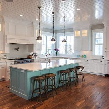 teal kitchen island contemporary kitchen benjamin moore