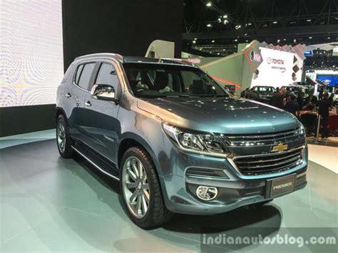 2016 Chevrolet Trailblazer Premier (facelift) Unveiled