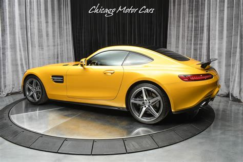 The sports car of your dreams. Used 2017 Mercedes-Benz AMG GT Coupe Original MSRP $137k+ Loaded AMG Solarbeam Yellow ...