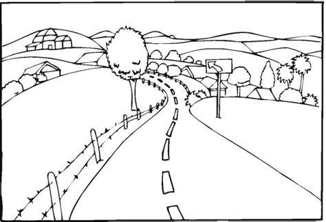 landscape coloring pages teaching kids pinterest coloring coloring pages  landscapes