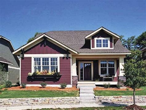 lovely small bungalow house plans  single story craftsman bungalow house plans smalltowndjscom