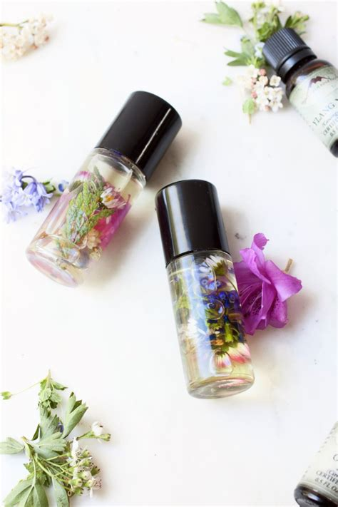 diy perfume roll   wildflowers  styleoholic