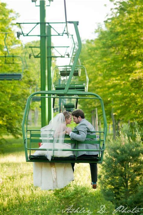 Ski Lift Wedding Weddingphotography Wedding Photography