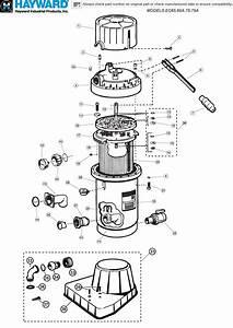 Hayward Perflex De Filter Parts