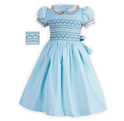 wedding guest gifts traditional toddler smocked corduroy dress