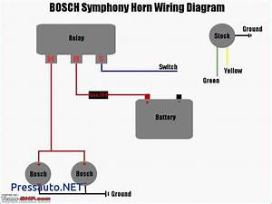 3 Pin Horn Relay Wiring Diagram