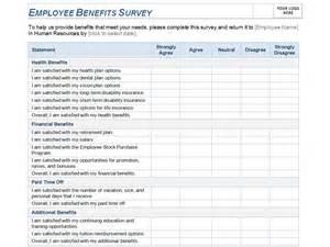 Employee Benefits Survey Template