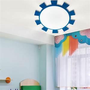 Deckenleuchte Led Kinderzimmer : led kinderzimmer wand deckenleuchte mit puffy sticker ~ Markanthonyermac.com Haus und Dekorationen
