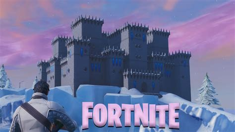 deathmatch castle frozen fortnite creative fortnite