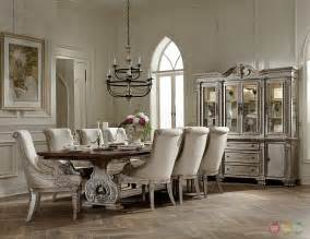 Traditional Dining Room Sets Orleans Ii White Wash Traditional 7pc Formal Dining Room Furniture Set Ebay