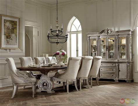 orleans ii white wash traditional pc formal dining room