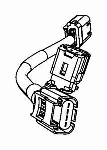 2007 Dodge Nitro Wiring  Jumper  Impact Sensor  Front