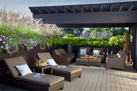 Rooftop Terracedeck Design Ideas Interiorholiccom