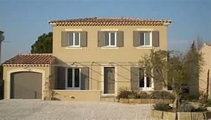 Couleur facade maison provencale maison provencales emg for Superior couleur facade maison provencale 5 votre maison villas trident au cur de la provence