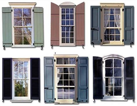Types Of Exterior Shutters  Exteriors  House Shutters