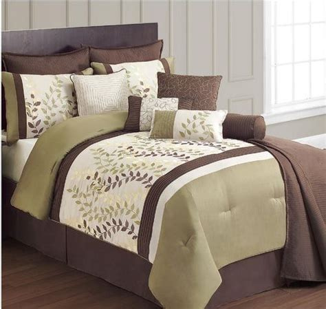 green and brown bedding brown and green bedding home decor pinterest