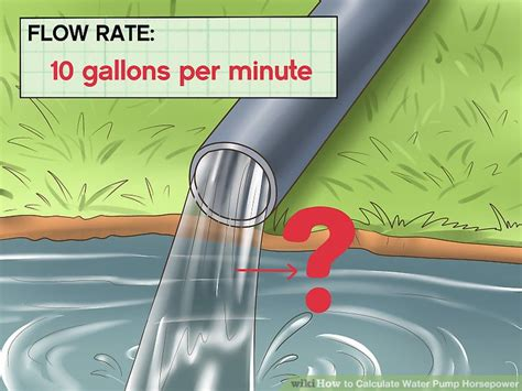 How To Calculate Water Pump Horsepower