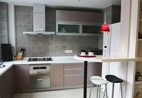 deco cuisine blanc et cuisine moderne grise et blanc