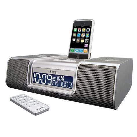 iphone clock radio ihome ip9 clock radio audio system for iphone ipod