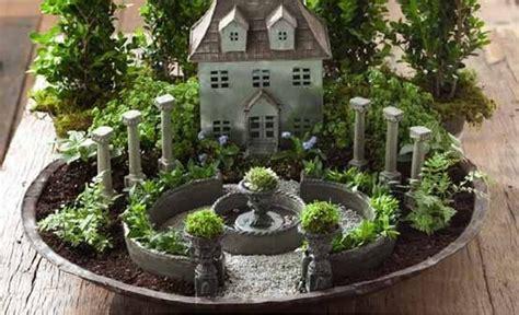 pick  top  miniature fairy garden design ideas home design garden