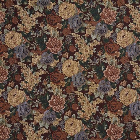 Floral Upholstery Fabric by F924 And Green Floral Tapestry Upholstery Fabric By