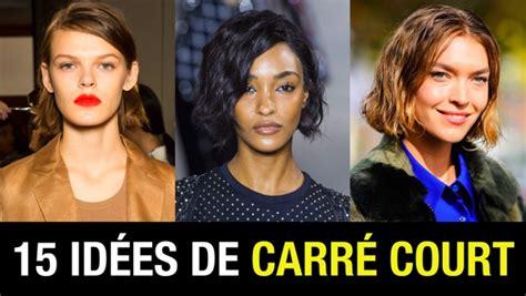 coupe carr 233 court coiffure tendance printemps 233 t 233 2018 taaora mode tendances looks