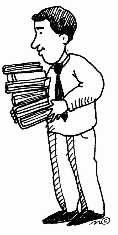 Clip Principal Librarian Library Clipart Male Teacher
