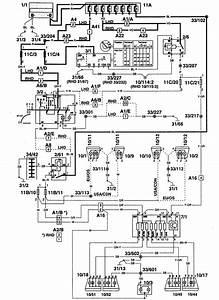 Volvo 960  1995  - Wiring Diagrams - License Plate Lamp