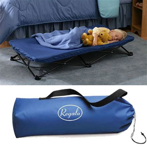Regalo My Cot Portable Toddler Bed by Regalo My Cot Portable Bed With Washable Matching Sheet