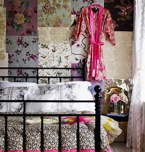 Zimmer Vintage Gestalten : 50 vintage tapete ideen die dem raum einen unvergleichbaren charme vermitteln ~ Whattoseeinmadrid.com Haus und Dekorationen