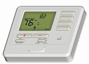 2 Heat 1 Cool Hvac Thermostat Heat Pump 24v With Blue