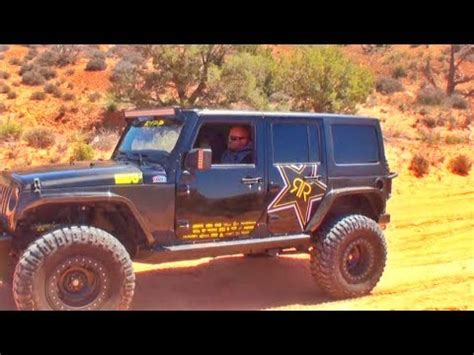 rockstar energy jeep moab new jeep youtube