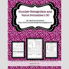 Lil Country Librarian Number Recognition Printables 130