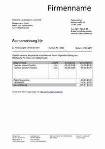 Kfz Steuer Mahnung Ohne Rechnung : stornorechnung muster vorlage kostenlos herunterladen ~ Themetempest.com Abrechnung