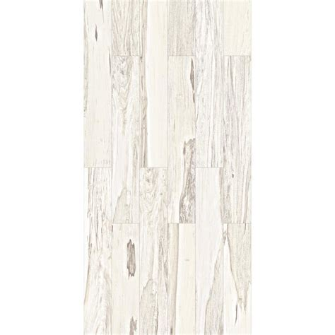 Shop Style Selections Brazilian Pecan White Porcelain Wood