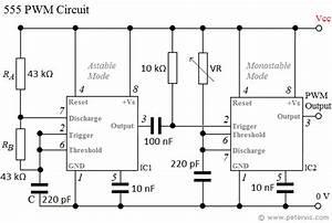 555 pwm circuit With pwm control circuit