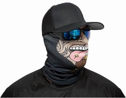 Mask Face Kahuna Motorcycle Masks Loot Moto