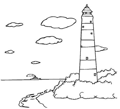 lighthouse coloring pages large lighthouse coloring pages coloring coloring pages