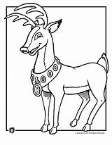 Rudolph Coloring Reindeer Nosed Deer Drawing Clipart Animal Printable Sheets Cliparts Ultimate Adult Library Jr Animaljr Embroidery Printer Send Button sketch template