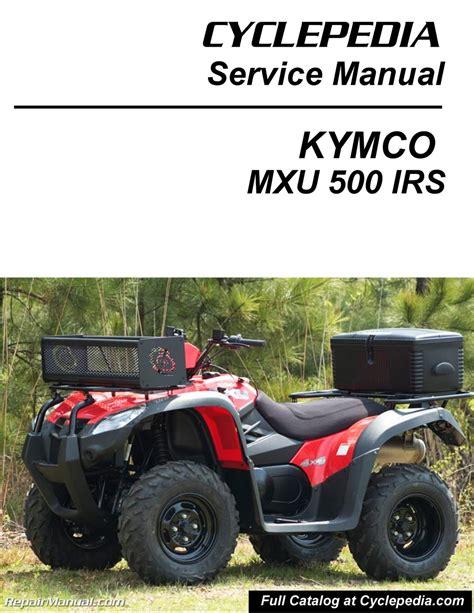 Kymco Mxu Atv Service Manual Printed