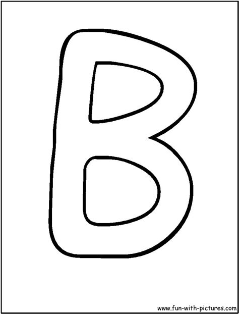 b in bubble letters letters uppercase b theveliger 20538   print letters b coloring pages cute things for kids pinterest with regard to bubble letters uppercase b