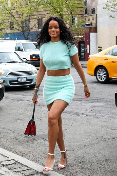 Rihannau2019s matching two-piece Steal her style