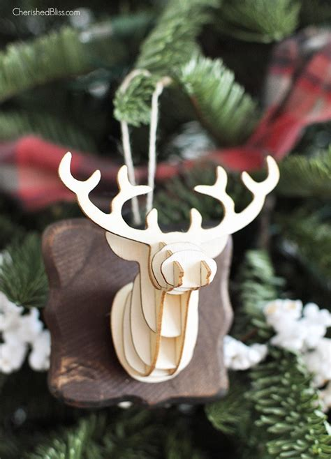 diy country christmas ornaments   tree