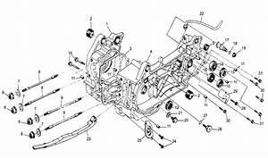 150cc Gy6 Crankcase Area