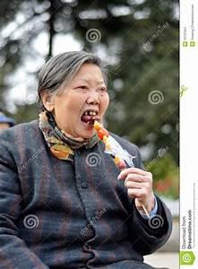Sweet Grandma Stock Image