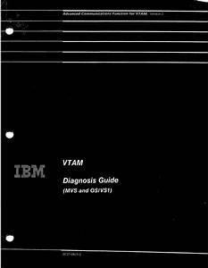 Ibm - Vtam - Diagnosis Guide  Mvs And Os-vs1